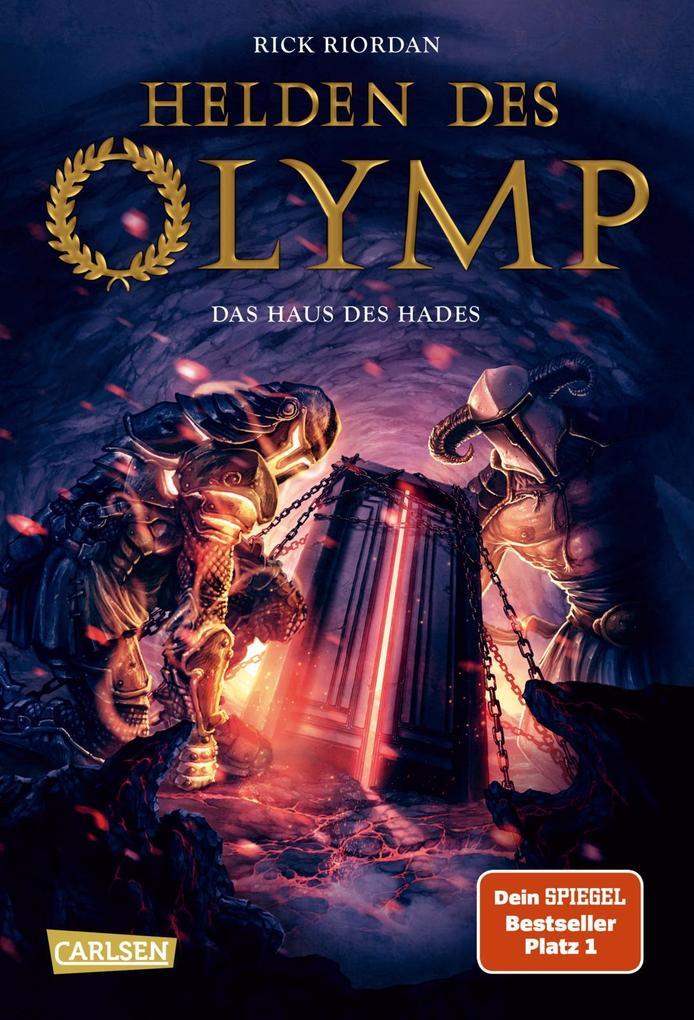 Helden des Olymp 04: Das Haus des Hades als Buch (gebunden)