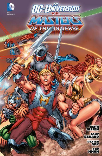 Das DC-Universum vs. Masters of the Universe als Buch (kartoniert)
