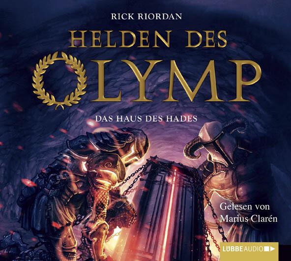 Helden des Olymp Teil 4 - Das Haus des Hades als Hörbuch CD