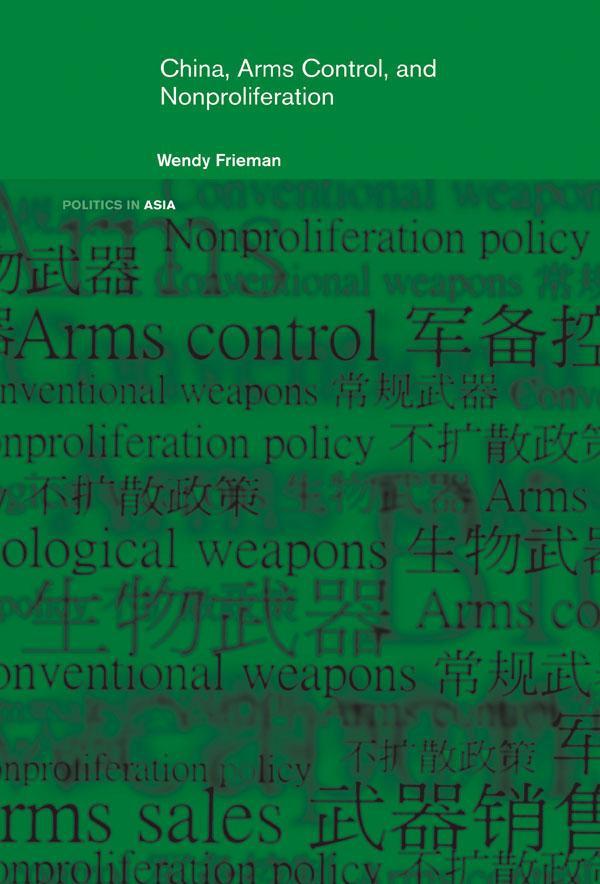 China, Arms Control, and Non-Proliferation als eBook epub