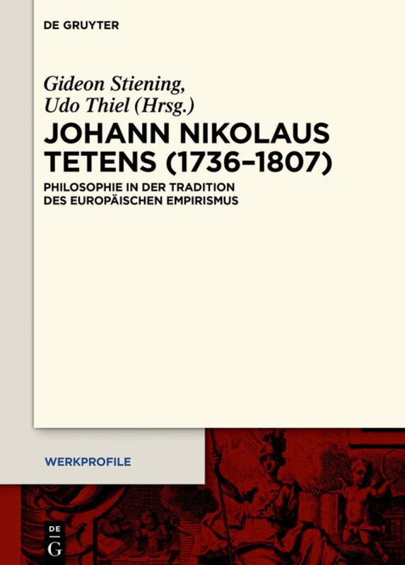 Johann Nikolaus Tetens (1736-1807) als Buch (gebunden)