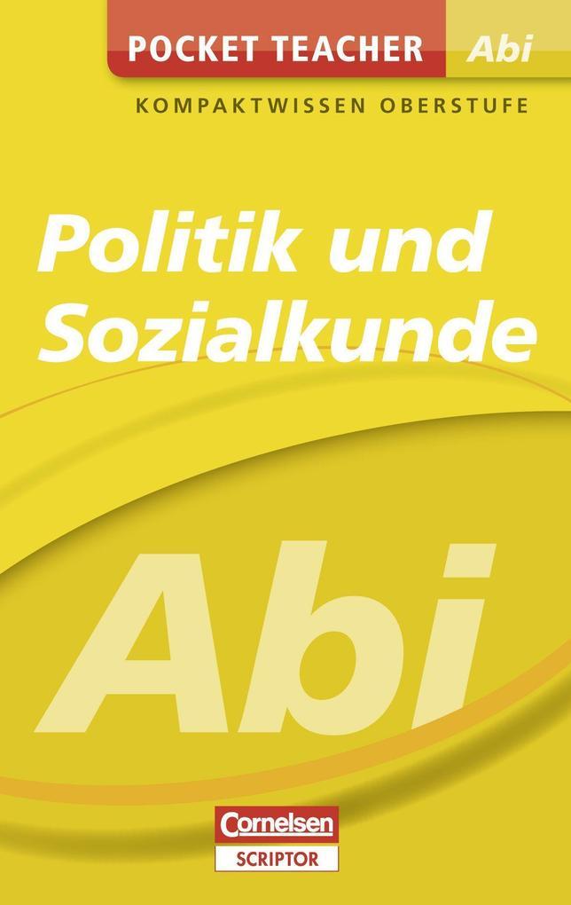 Pocket Teacher Abi Politik/Sozialkunde als Buch (kartoniert)