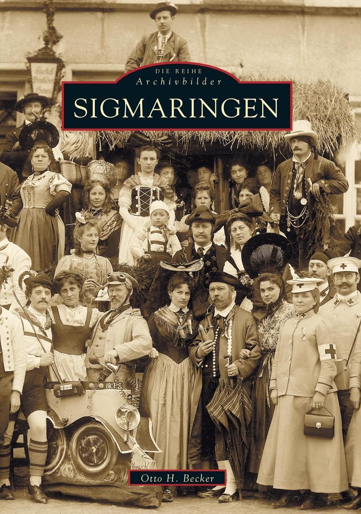 Sigmaringen als Buch (kartoniert)