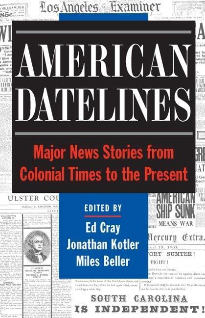 American Datelines als Taschenbuch