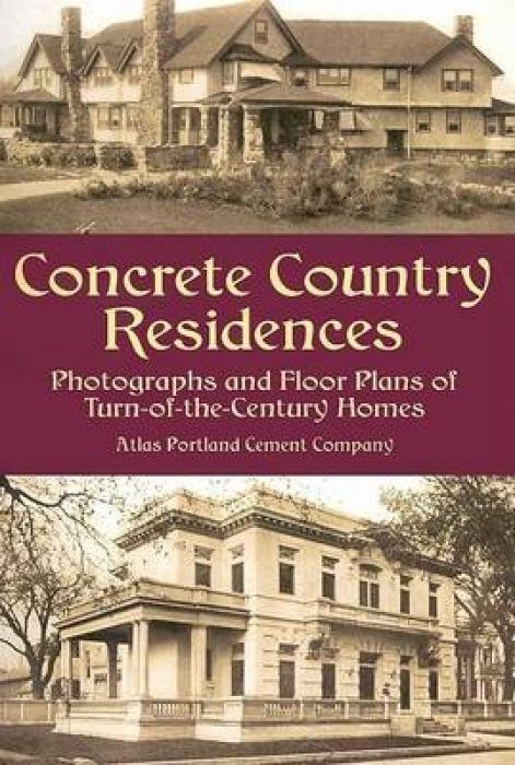 Concrete Country Residences als Taschenbuch