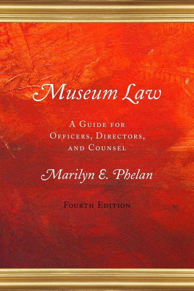 Museum Law als eBook epub