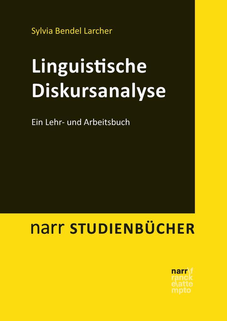 Linguistische Diskursanalyse als eBook pdf