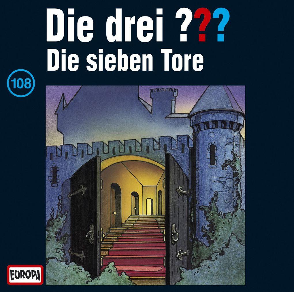 Die drei ??? 108. Die sieben Tore (drei Fragezeichen) CD als CD