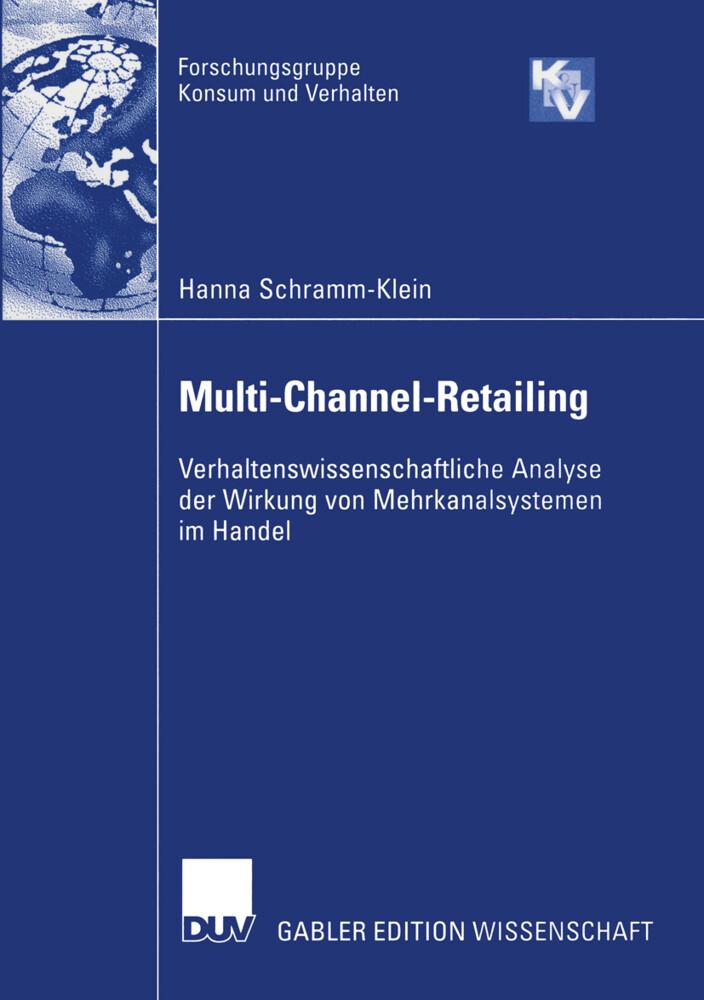 Multi-Channel-Retailing als Buch (kartoniert)