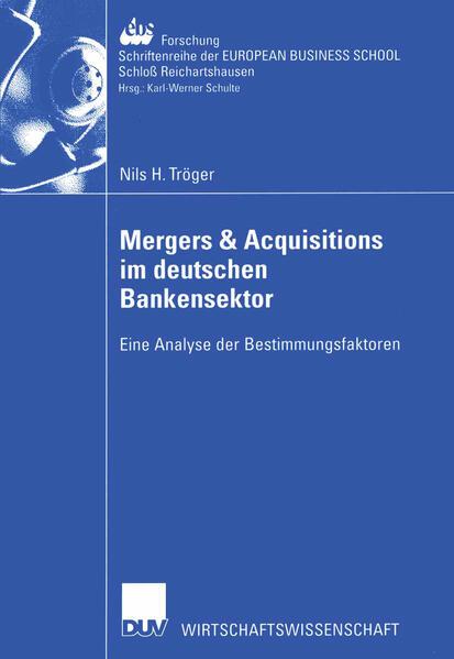 Mergers & Acquisitions im deutschen Bankensektor als Buch (kartoniert)