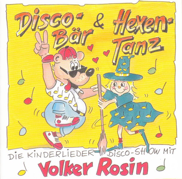 Discobär und Hexentanz. CD als Hörbuch CD