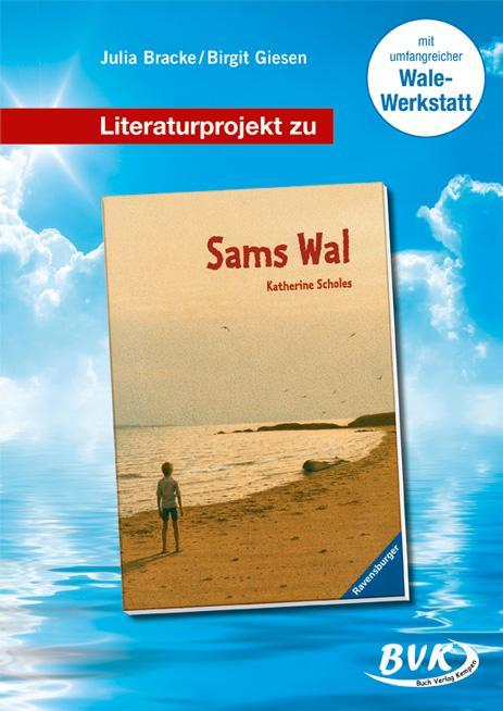 """Literaturprojekt zu """"Sams Wal"""" als Buch (geheftet)"""