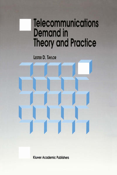 Telecommunications Demand in Theory and Practice als Buch (gebunden)