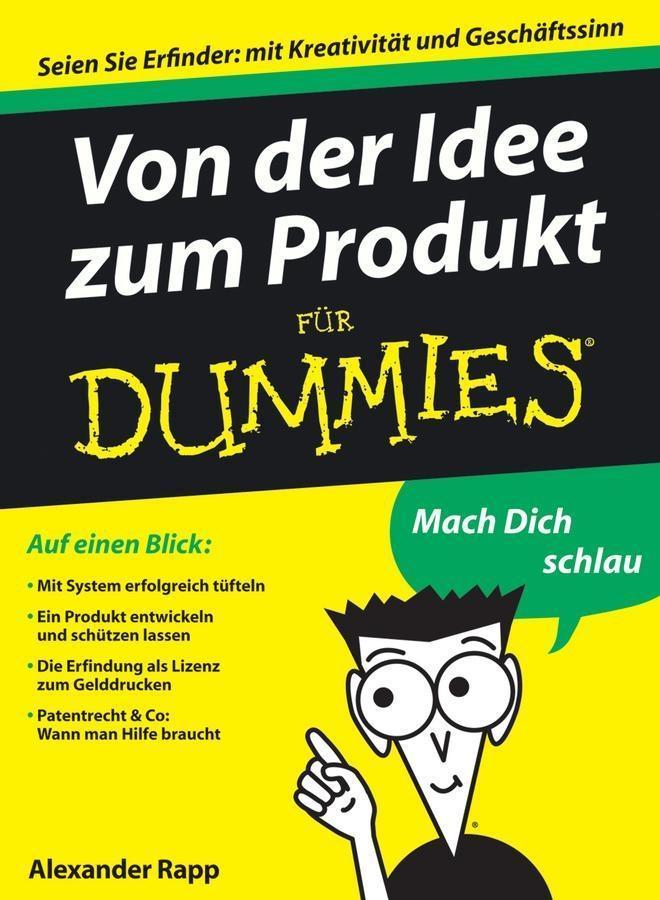 Von der Idee zum Produkt für Dummies als eBook epub