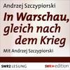 In Warschau, gleich nach dem Krieg