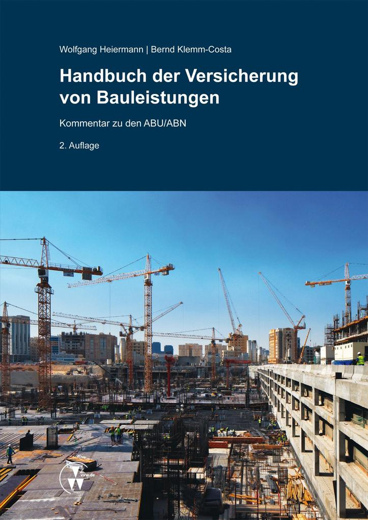 Handbuch der Versicherung von Bauleistungen als eBook epub