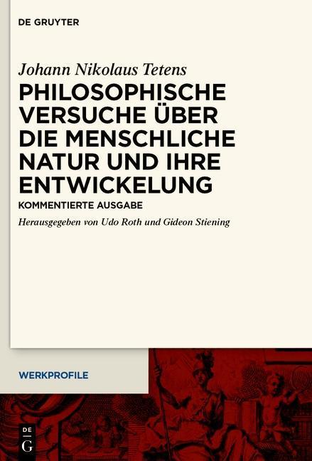 Philosophische Versuche über die menschliche Natur und ihre Entwickelung als eBook epub