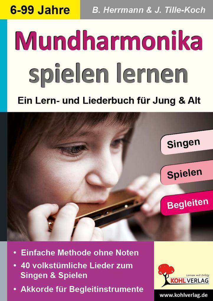 Mundharmonika spielen lernen als eBook pdf