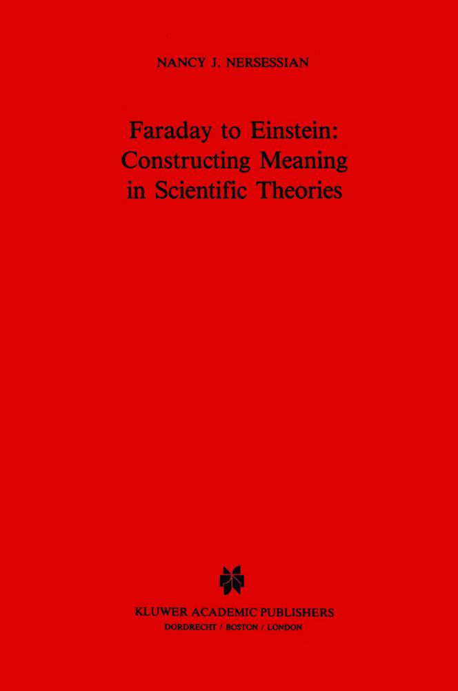 Faraday to Einstein: Constructing Meaning in Scientific Theories als Buch (gebunden)