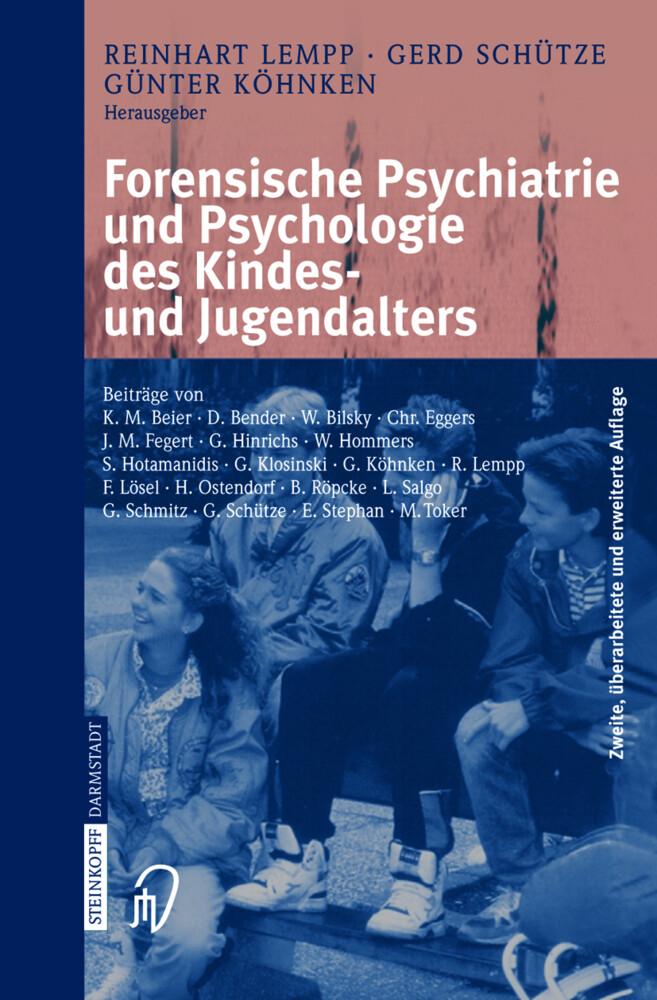 Forensische Psychiatrie und Psychologie des Kindes- und Jugendalters als Buch (kartoniert)