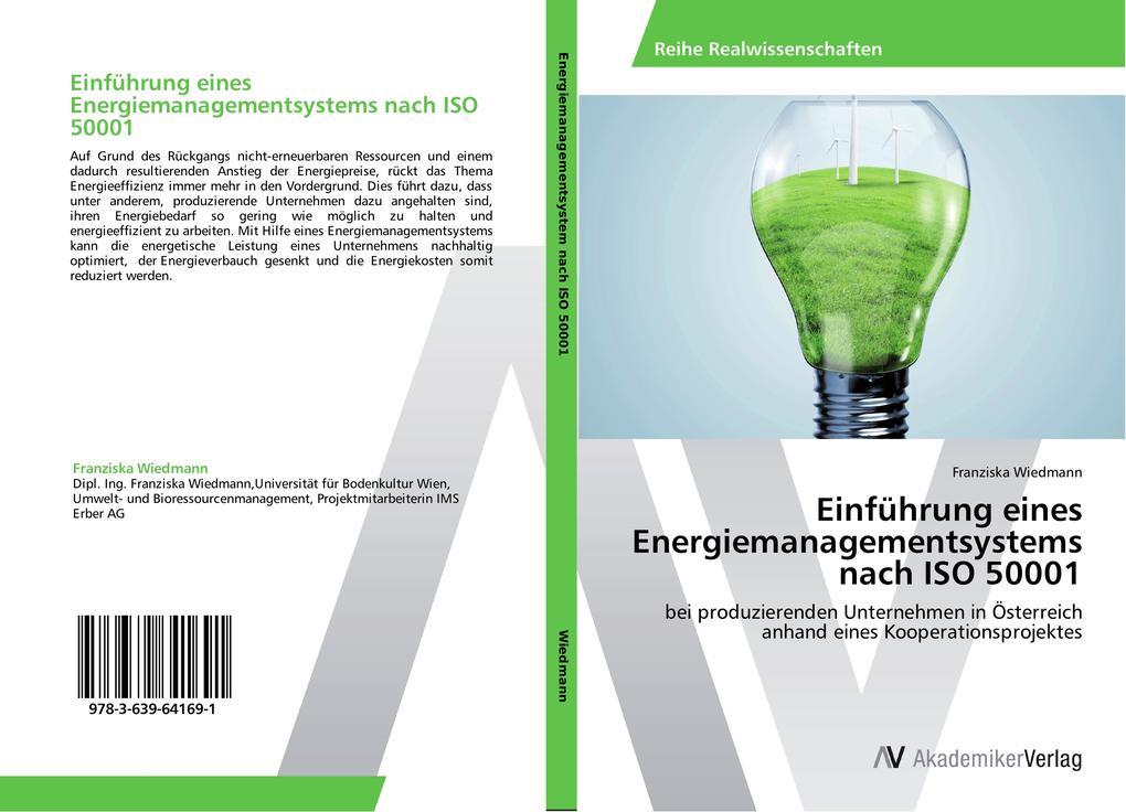 Einführung eines Energiemanagementsystems nach ISO 50001 als Buch (kartoniert)