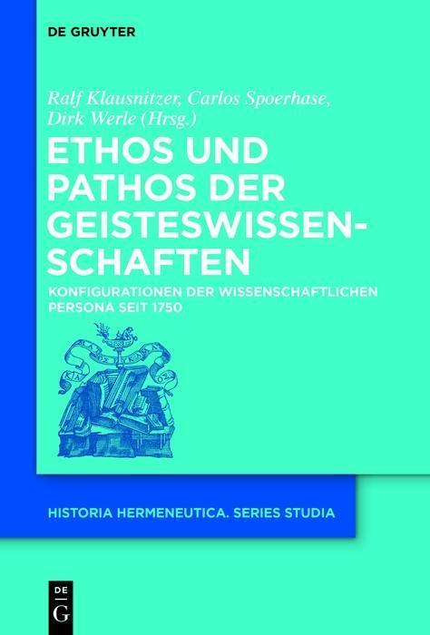 Ethos und Pathos der Geisteswissenschaften als eBook epub