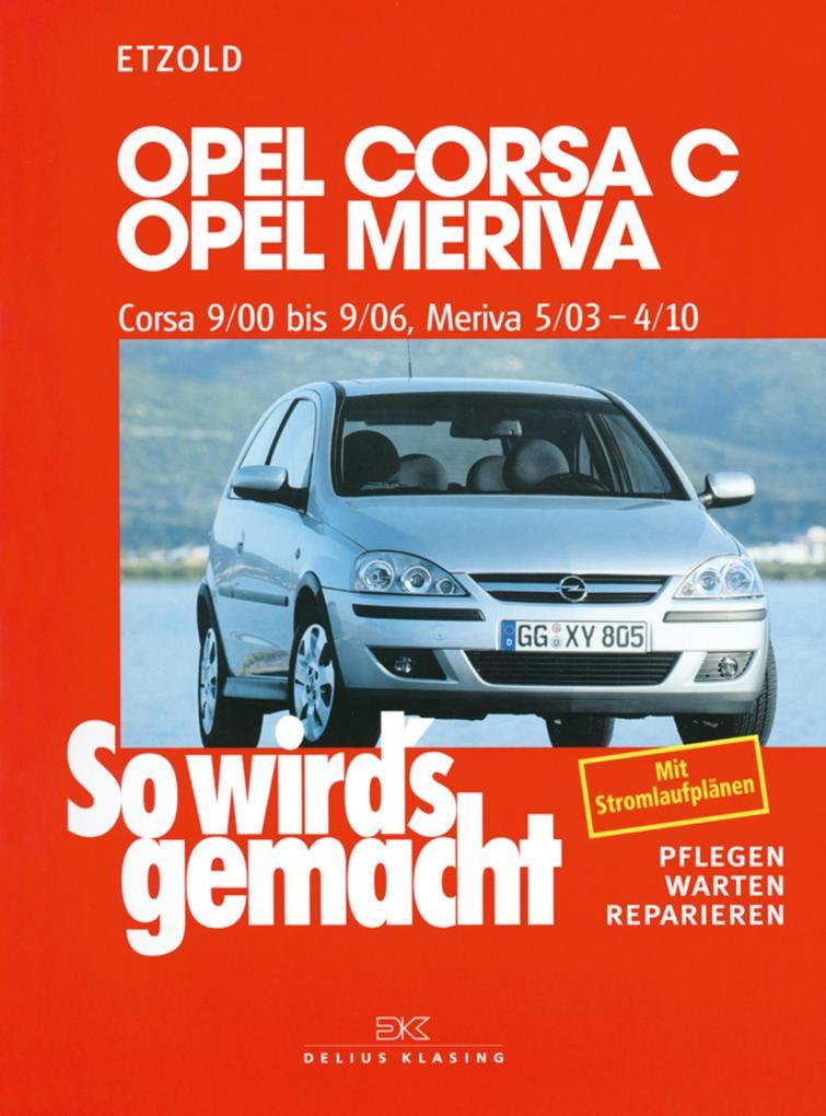 Opel Corsa C 9/00 bis 9/06 als eBook epub