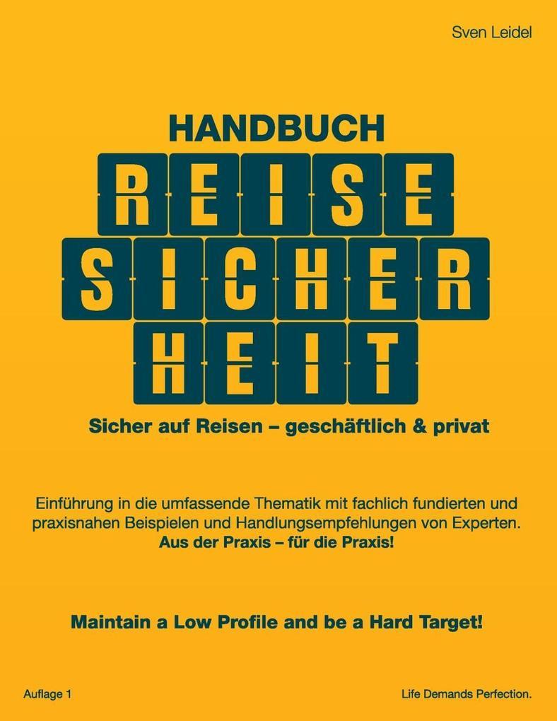 Handbuch Reisesicherheit als eBook epub