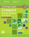 Compact First for Schools - Second edition. Workbook with answers with downloadable audio
