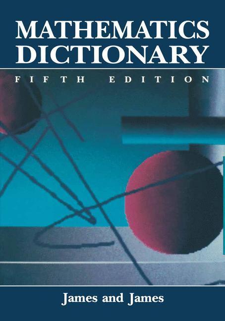 Mathematics Dictionary als Buch (kartoniert)