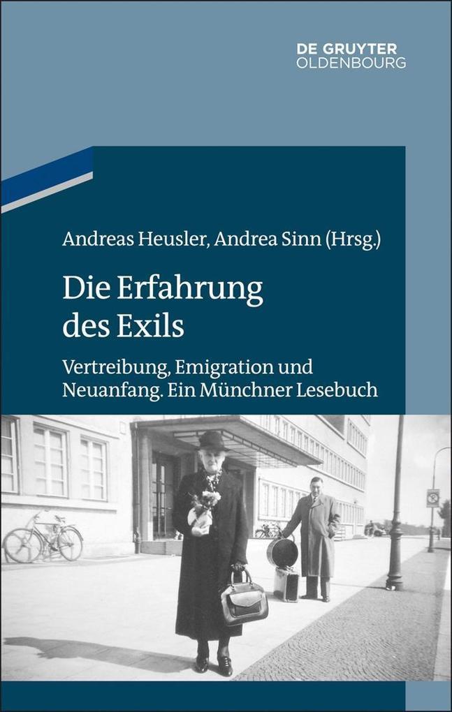 Die Erfahrung des Exils als eBook epub