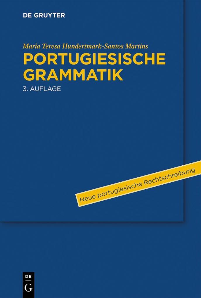 Portugiesische Grammatik als eBook epub