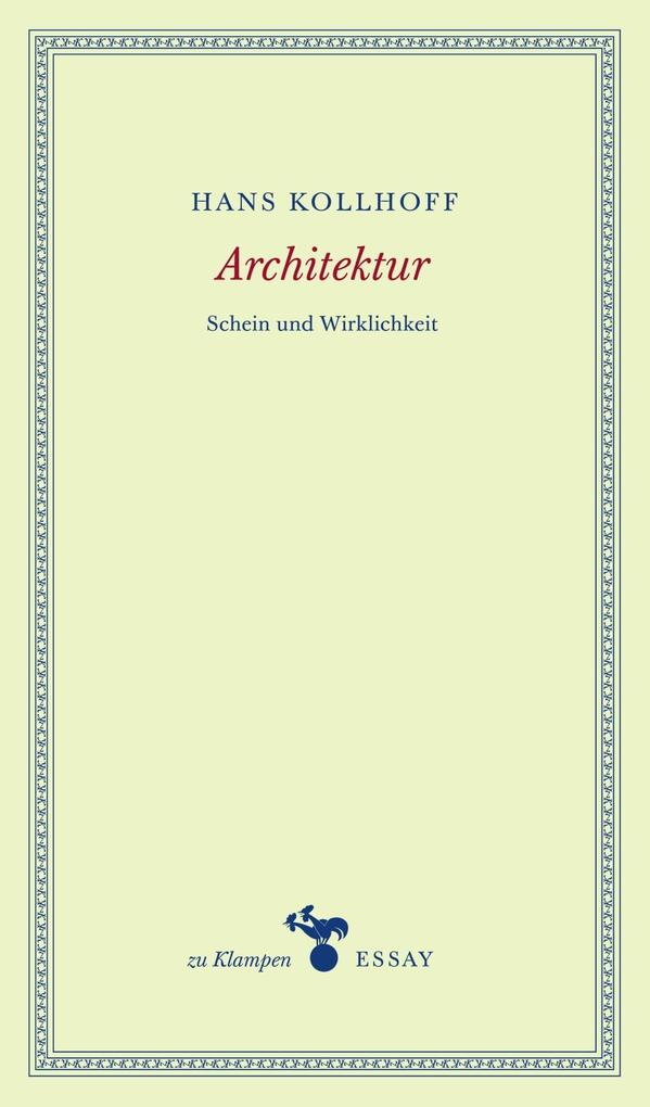 Architektur als eBook epub