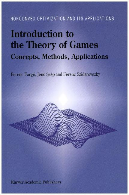 Introduction to the Theory of Games als Buch (gebunden)