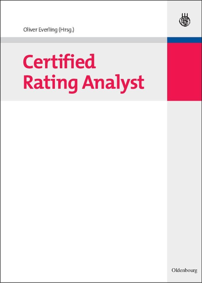 Certified Rating Analyst als eBook pdf