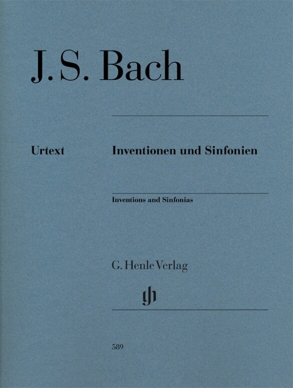 Inventionen und Sinfonien als Buch (kartoniert)