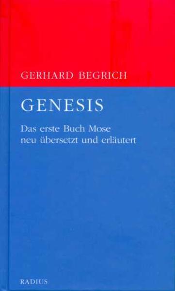 Genesis als Buch (gebunden)