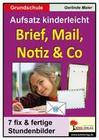 Brief, Mail, Notiz & Co