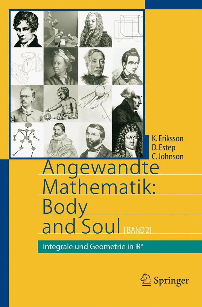 Angewandte Mathematik: Body and Soul als eBook pdf