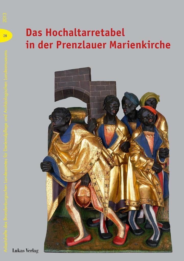 Das Hochaltarretabel in der Prenzlauer Marienkirche als eBook pdf