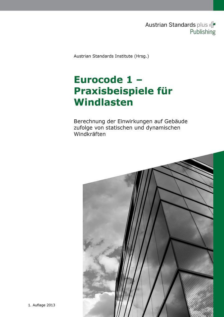 Eurocode 1 - Praxisbeispiele für Windlasten als eBook pdf