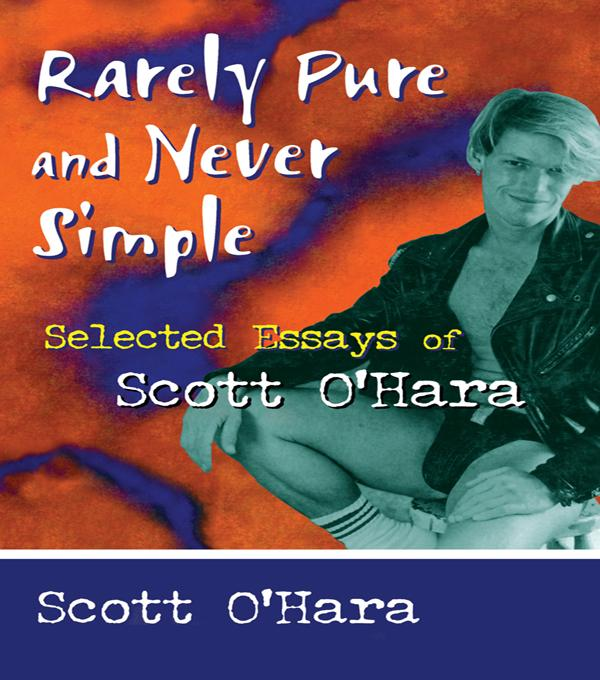 Rarely Pure and Never Simple als eBook pdf