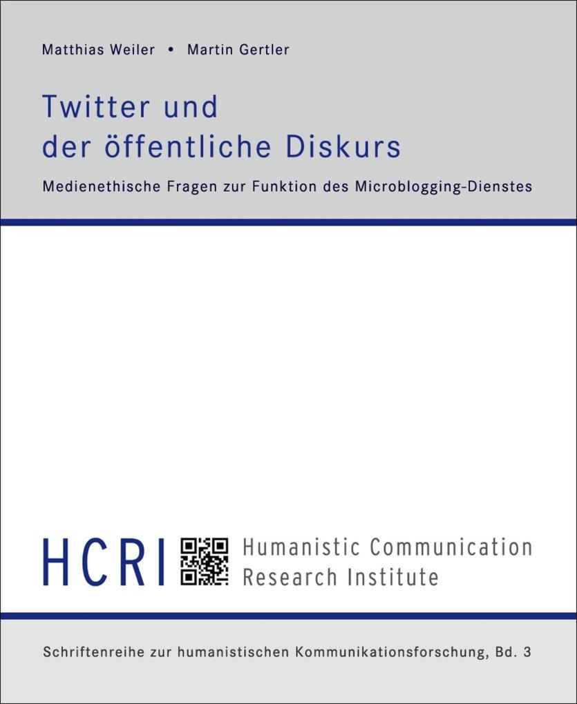 Twitter und der öffentliche Diskurs als eBook epub