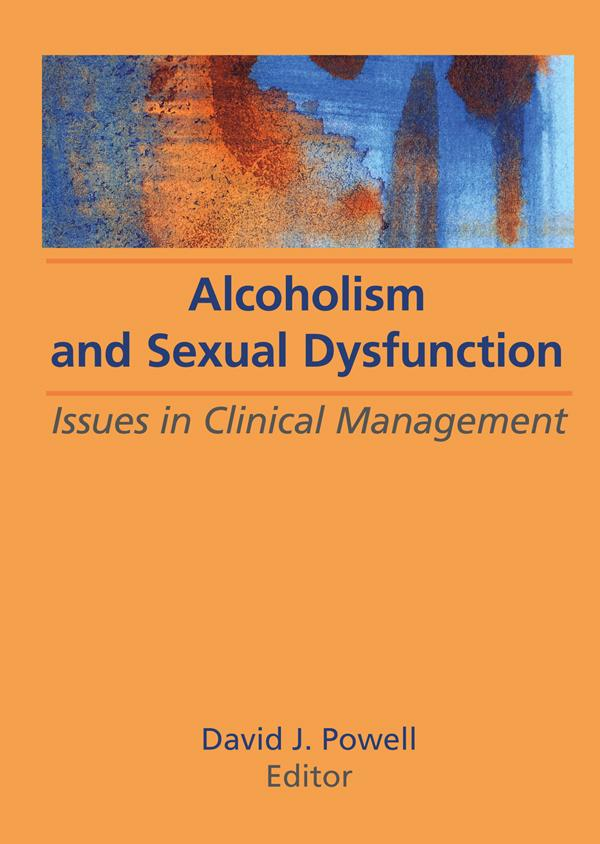 Alcoholism and Sexual Dysfunction als eBook epub
