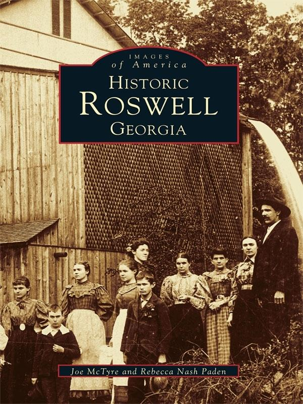 Historic Roswell Georgia als eBook epub