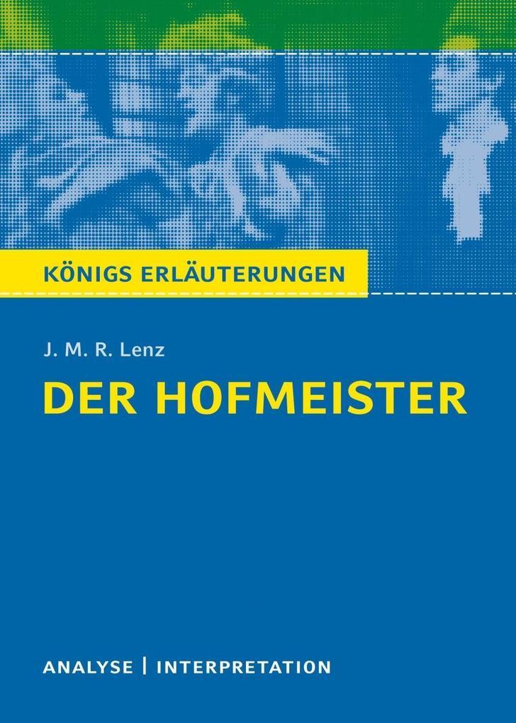 Der Hofmeister von J. M. R. Lenz. als eBook