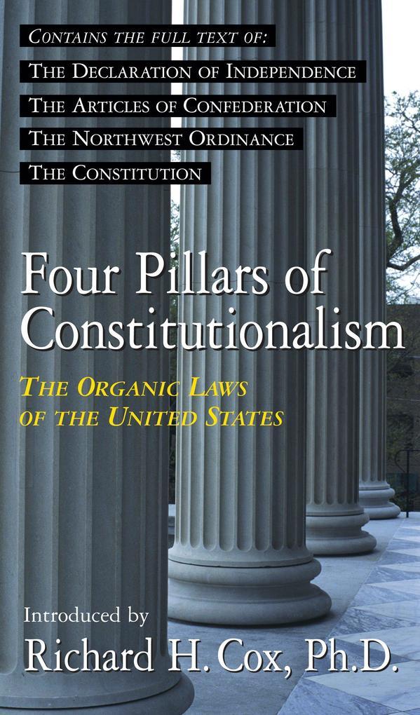 Four Pillars of Constitutionalism als Taschenbuch