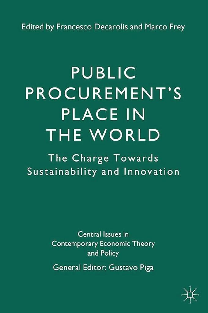 Public Procurement's Place in the World als eBook pdf
