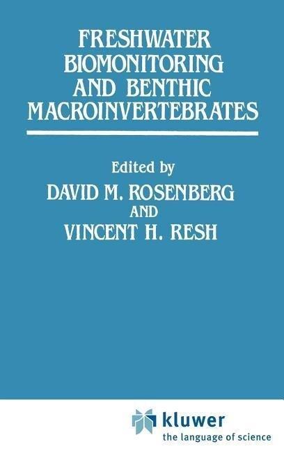 Freshwater Biomonitoring and Benthic Macroinvertebrates als Buch (gebunden)