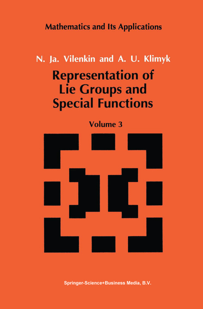 Representation of Lie Groups and Special Functions als Buch (gebunden)